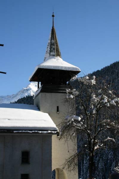 grimentz-clocher